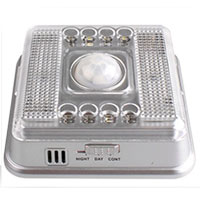 LED Light Lamp Pir Auto Sensor Motion Detector ไฟ LED