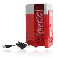 ตู้เย็นขนาดเล็ก ตู้เย็น USB Mini Portable Refrigerator  Mini Portable USB Fridge Refrigerator
