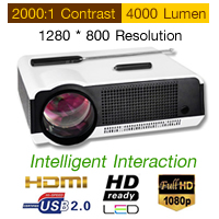 Interactive Projector 4000LM