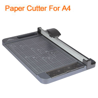 Paper Cutter Capable for A4 Cutting Sliding Rotary Blade