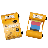 Color Ribbon YMCKO For Zebra ZXP3 280 Print/Roll