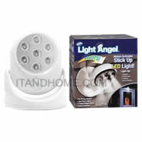 Light Angel LED Motion Activated Sensor Stick Up Night Light Cordless