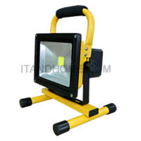 led rechargeable flood light 20W waterproof ip65