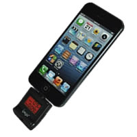 Alcohol Tester for iPhone 5 iPad Mini With LCD Digital Display