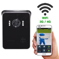 Wifi Video Intercom Monitor Night Vision Wireless Intercom for Android iPhone